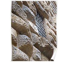 Stone walls do not a prison make.. Poster