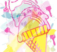 Ice_Cream_Paint by auraclover