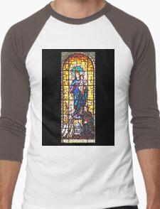 Mary Help of Christians Men's Baseball ¾ T-Shirt