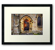 St Andrews Church, Aysgarth Framed Print
