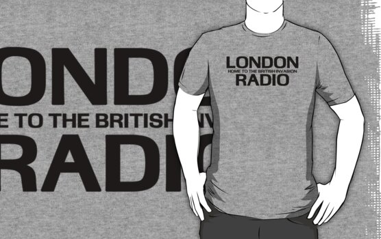 British Invasion - London Radio (Black) by kassette