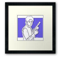 Michael Clifford as Han Solo Framed Print