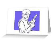 Michael Clifford as Han Solo Greeting Card