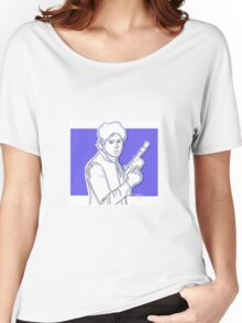 Michael Clifford as Han Solo Women's Relaxed Fit T-Shirt