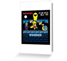 Boy Wonder Boy Greeting Card
