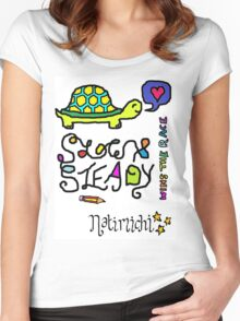 TORTOISE LOVE Women's Fitted Scoop T-Shirt