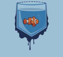 Pocket fish Baby Tee