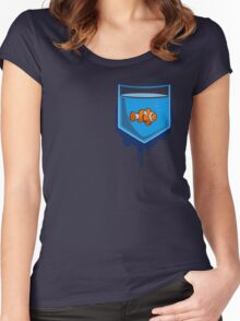 Pocket fish Women's Fitted Scoop T-Shirt