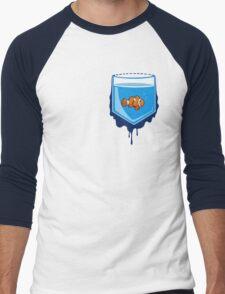 Pocket fish Men's Baseball ¾ T-Shirt