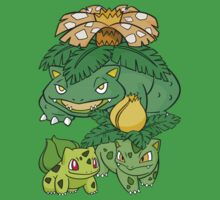 Shiny Bulba full EVO DW by Stephen Dwyer