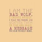 Bad Wolf by SamanthaMirosch