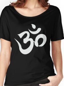 ohm white Women's Relaxed Fit T-Shirt