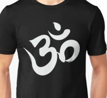 ohm white Unisex T-Shirt