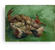Vincent Van Gogh  - A crab on its back (1888). Famous Painting. Impressionism. Canvas Print