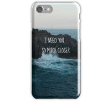 Ocean Quote iPhone Case/Skin