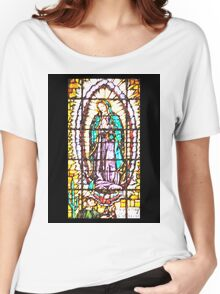 Our Lady of Guadalupe Women's Relaxed Fit T-Shirt