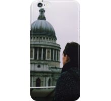 tower and man iPhone Case/Skin
