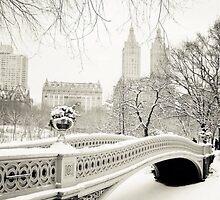 snowy london by mitchlx