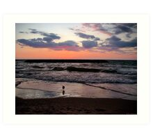 Great Lakes Sunset Art Print
