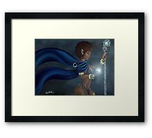Dark Elf Framed Print