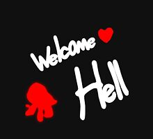 WELCOME ♥ HELL Women's Fitted Scoop T-Shirt