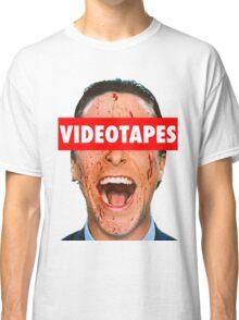 Videotapes American Psycho Classic T-Shirt