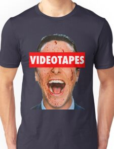 Videotapes American Psycho Unisex T-Shirt