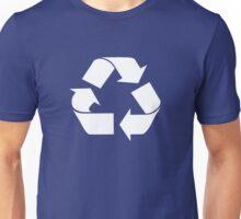RECYCLE white Unisex T-Shirt