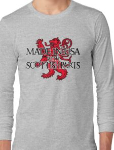 Made in USA with Scottish parts Long Sleeve T-Shirt