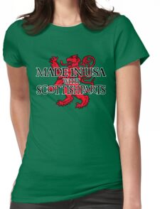 Made in USA with Scottish parts Womens Fitted T-Shirt