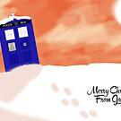 Gallifrey snow scene (With Text) by TesniJade