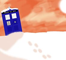 Gallifrey snow scene (Without Text) by TesniJade
