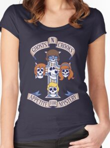 Appetite for Mystery Women's Fitted Scoop T-Shirt