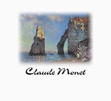 Claude Monet - Cliffs at Etretat Unisex T-Shirt