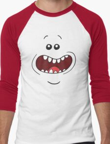 Mr. Meeseeks Rick and Morty Men's Baseball ¾ T-Shirt