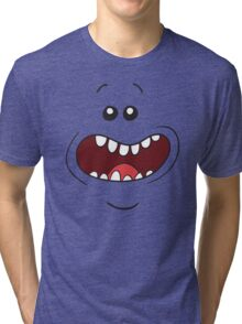 Mr. Meeseeks Rick and Morty Tri-blend T-Shirt