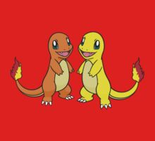 Charmander and Shiny by Stephen Dwyer