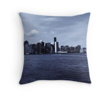 View from Stuyvesant Park Grove Throw Pillow