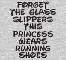 Forget The Glass Slippers, This Princess Wears Running Shoes by Fitspire Apparel