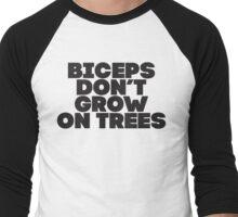 Biceps Don't Grow On Trees Men's Baseball ¾ T-Shirt