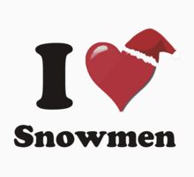 I Love Snowmen by HighDesign