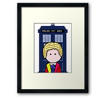 The 6th Doctor Framed Print