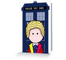 The 6th Doctor Greeting Card