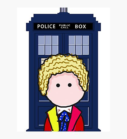 The 6th Doctor Photographic Print
