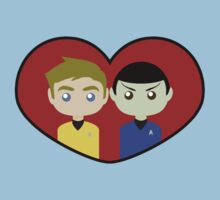 Kirk and Spock Baby Tee