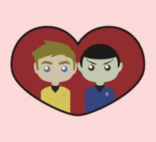 Kirk and Spock Kids Clothes
