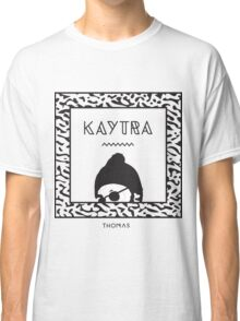 Kaytranada with white 'kayta' and white face Classic T-Shirt