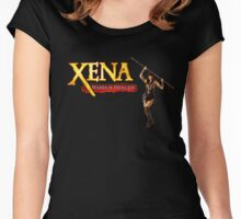 Xena-Warrior princess Women's Fitted Scoop T-Shirt