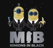 Minions in black by Faster117