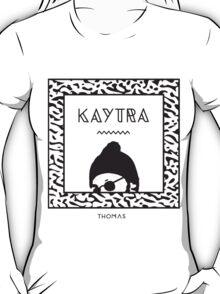 Kaytranada with white 'kayta' T-Shirt
